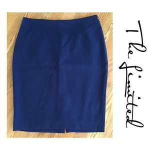 THE LIMITED▪️Sapphire Blue Straight Skirt 16